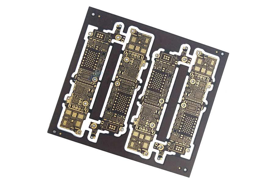 8 Layer ENIG Blind Buried Via printed circuit board manufacturers