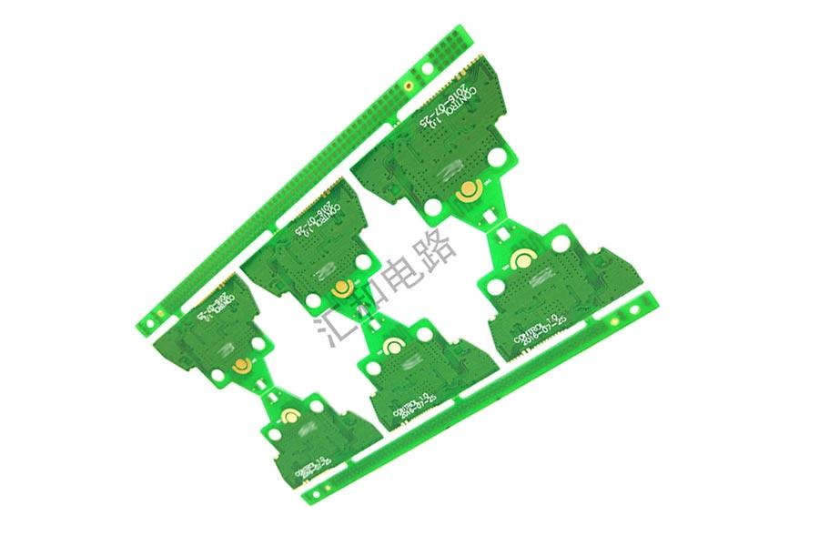 2 layer ENIG impedance control half hole PCB