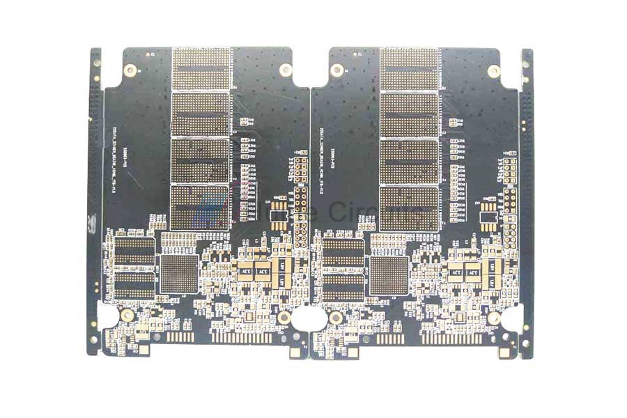 6 Layer ENIG via-in-pad Prototype PCB Board