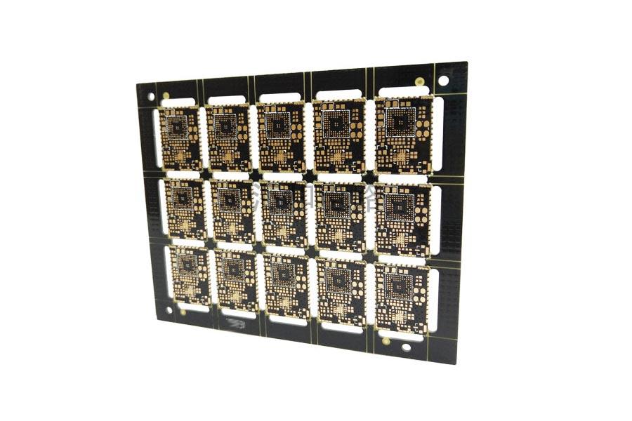 4 layer ENIG impedance control half hole fr4 PCB