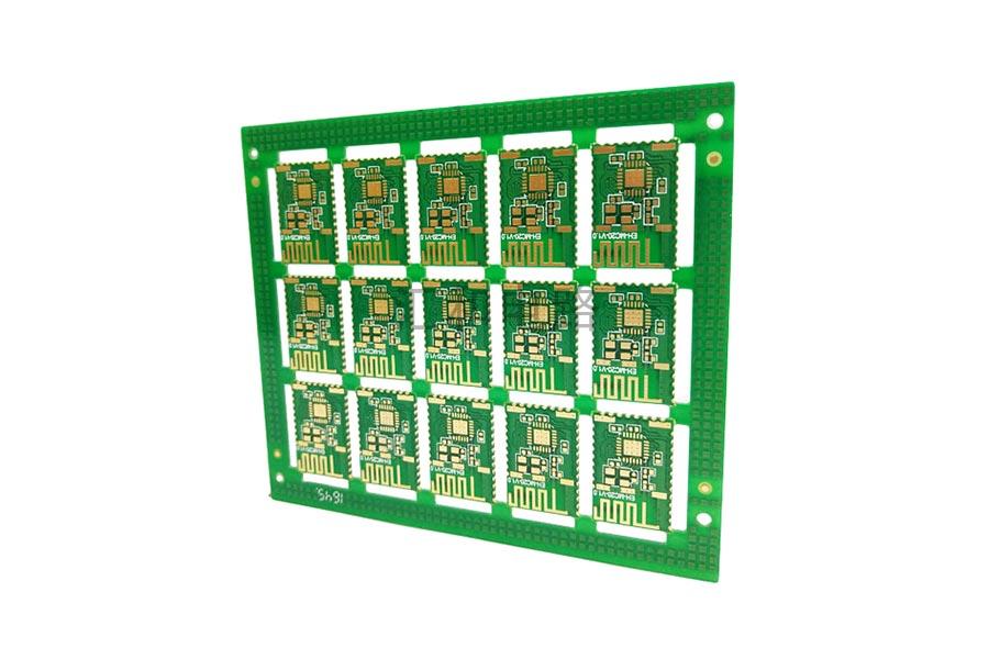 2 layer ENIG half hole PCB