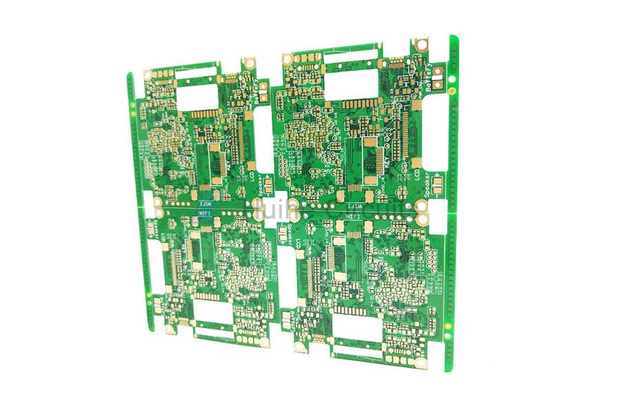 8 Layer ENIG via-in-pad PCB
