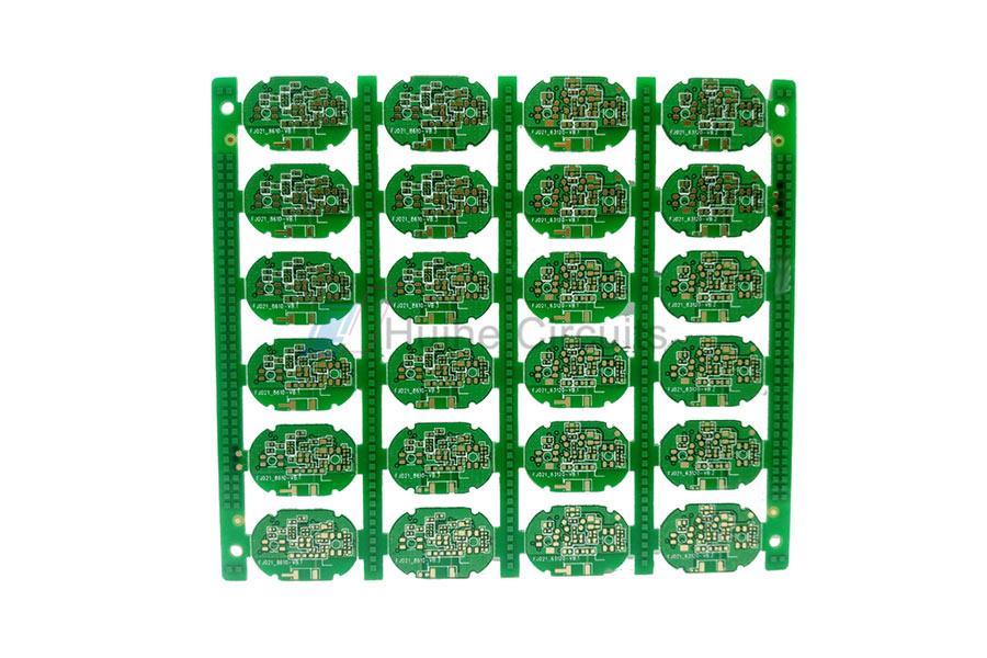 6 Layer ENIG via-in-pad PCB Prototype Service