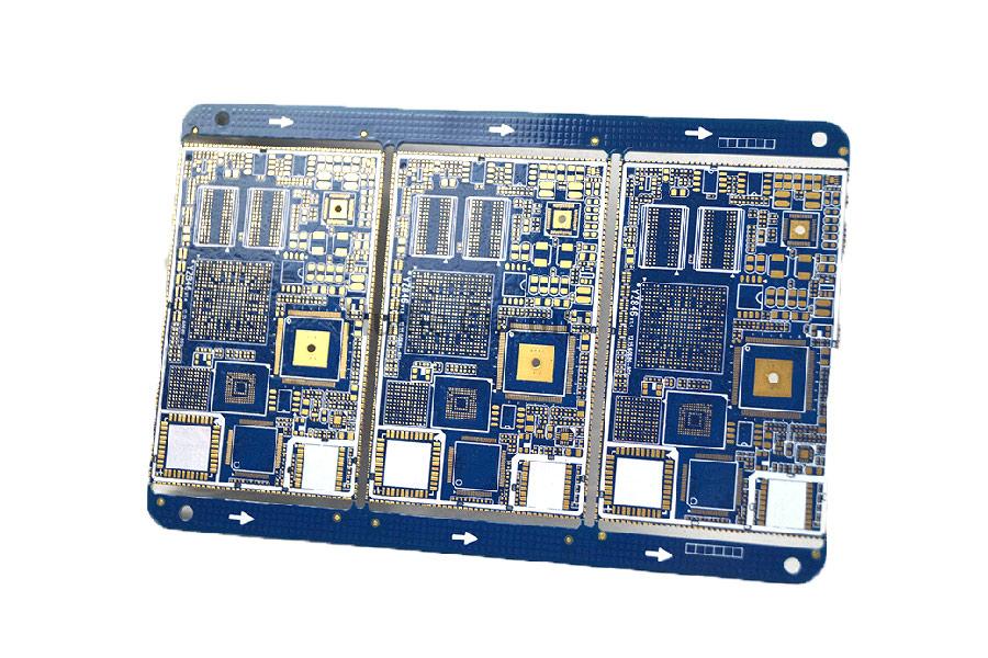 8 layer ENIG impedance control half hole PCB