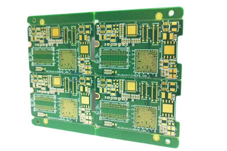 10 Layer ENIG Blind Vias PCB