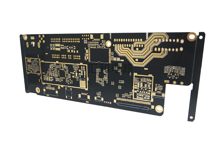 4 Layer High TG ENIG Impedance Control PCB