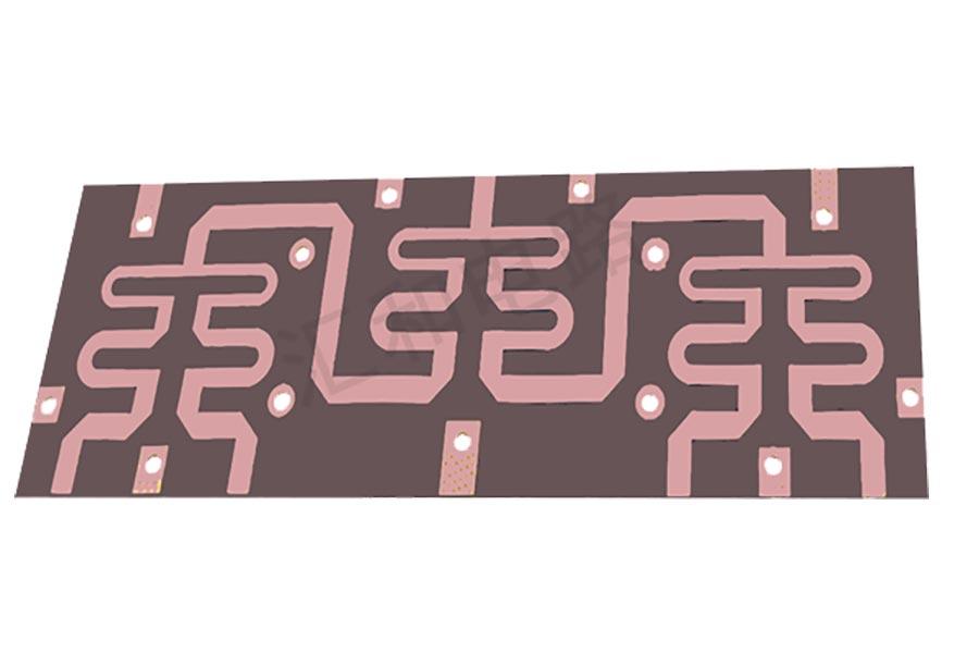 2 layer F4B ENIG PCB