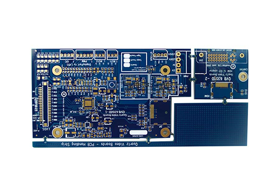 4 Layer ENIG Impedance Control Multilayer PCB