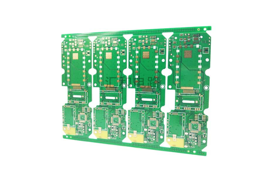 4 Layer ENIG Impedance Control PCB Board Manufacturing