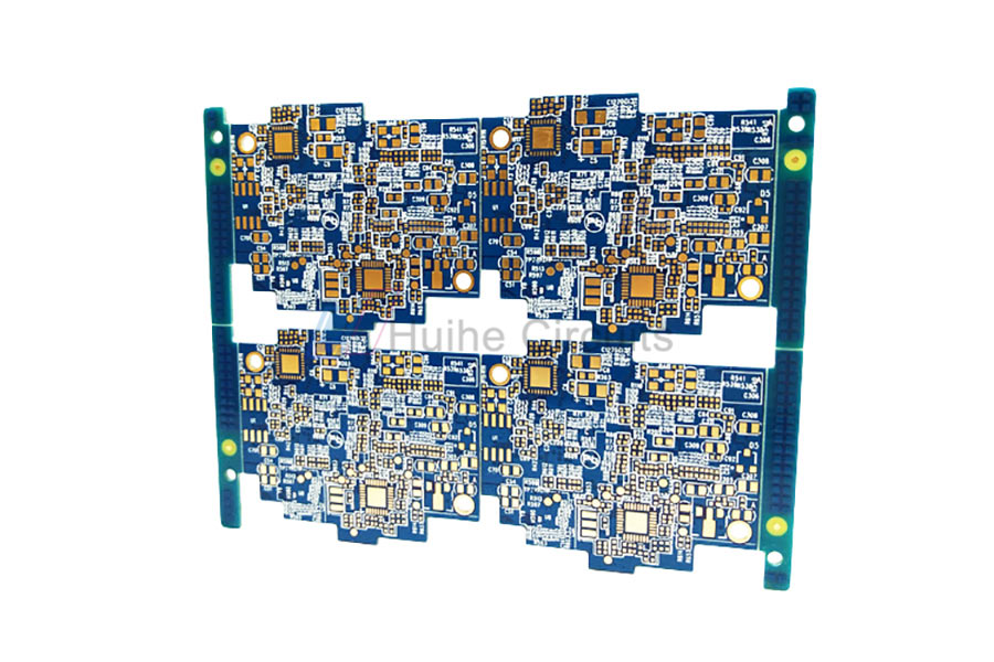 8 Layer ENIG Impedance Control Heavy Copper PCB