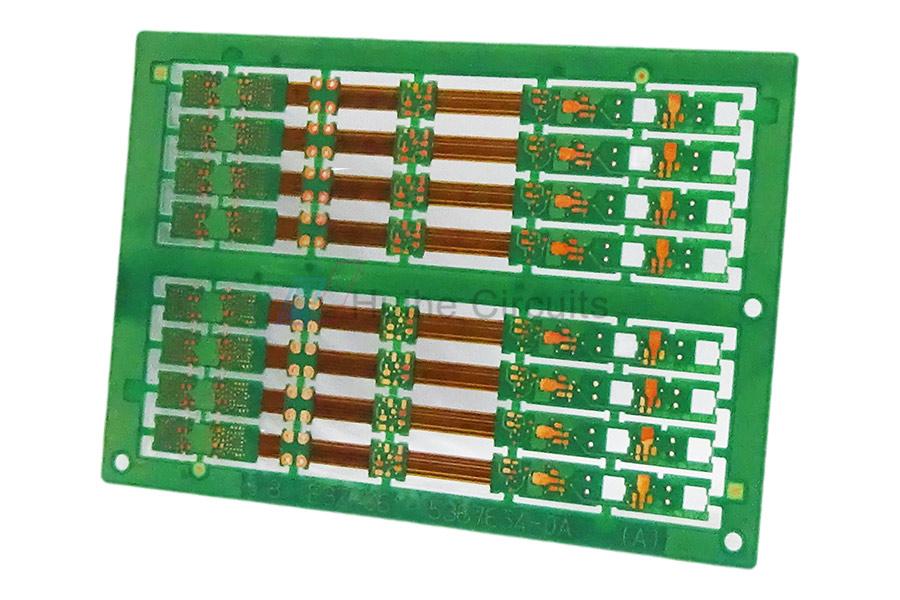 8 Layer FPC+FR4 Rigid-Flex PCB maker