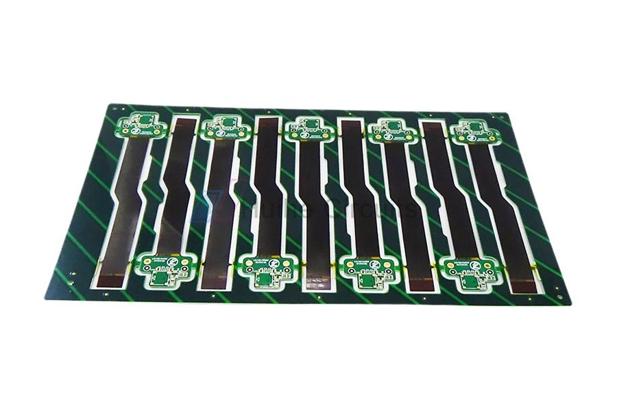 4 Layer FPC+FR4 Rigid-Flex PCB