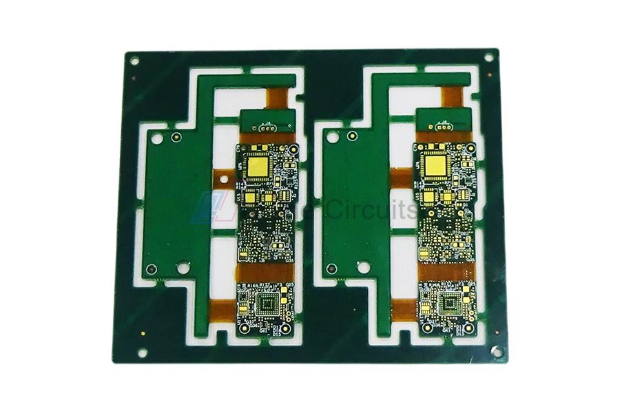 6 Layer FPC+FR4 Rigid-Flex PCB
