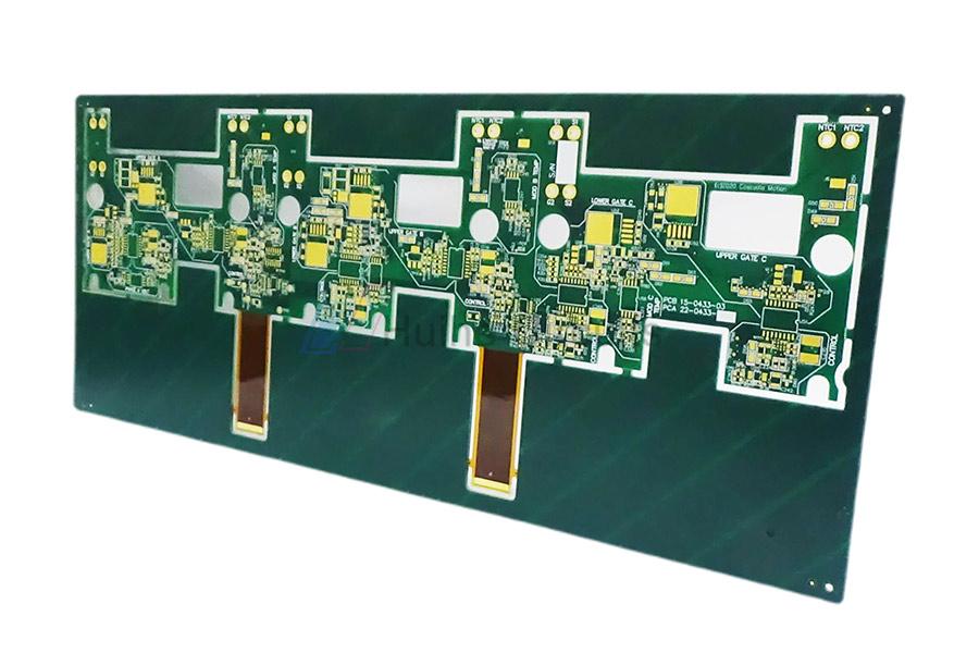 8 Layer FPC+FR4 Rigid-Flex multilayer pcb PCB